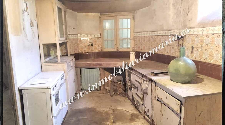 cocina-casa-Vilar-de-Santiago
