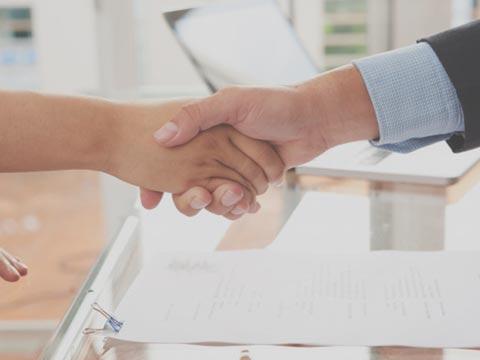 Contrato firmado inmobiliaria