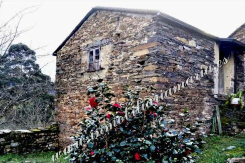 Vista exterior Casa rural en venta en Vides Lugo - Inmobiliaria María
