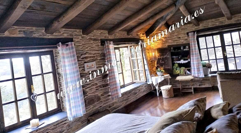 habitación-doble-casa-en-Villaxubin-A-Potenova