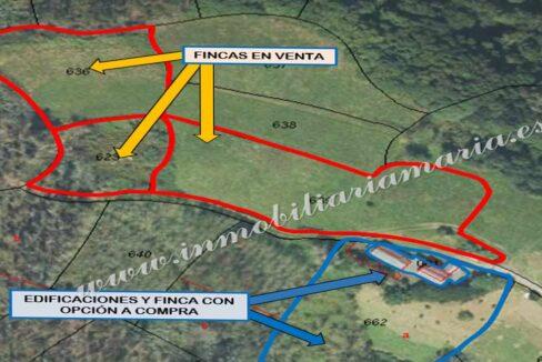 Venta de fincas en A Caridad - Asturias