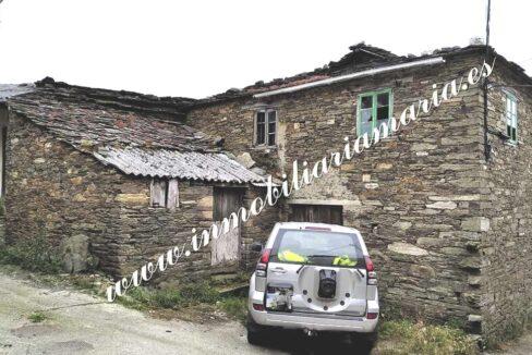 Venta de casa en Sanxés - A Pontenova (Lugo)